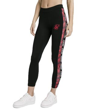 Leggins Sik Silk Rose Panel