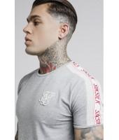 Camiseta SikSilk Tape Gym Tee
