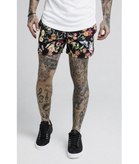 Pantalones SikSilk Secret Garden Standard Swim Shorts