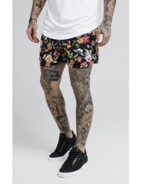 Pantalones SikSilk Secret Garden Standard Swim Shorts