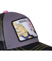 Gorra Capslab Vegeta VS Pequeño Buu Dragon Ball Z