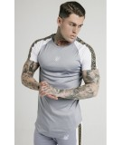Camiseta Siksilk Taped Constrat Tee