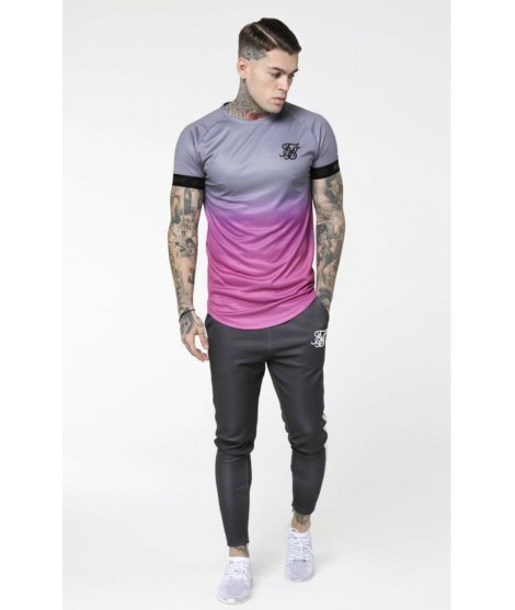 Camiseta SikSilk Fade Out Tech