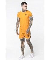 Camiseta SikSilk Runner Cuff Gym