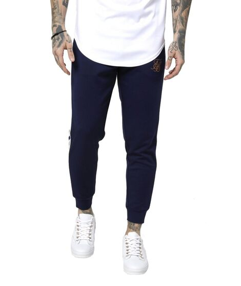 Pantalones SikSilk Cropped Taped Joggers