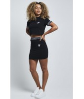 Camiseta Cropped SikSilk Panel