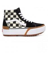 Zapatillas Vans CheckerBoard Sk8-HI Stacked