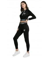 Pantalones SikSilk Track TRACK PANTS BLACK
