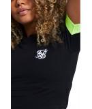 Camiseta Cropped Neon Tape