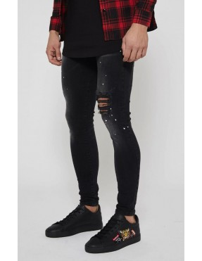 Pantalones Good For Nothing Ripped para Hombre - Negro