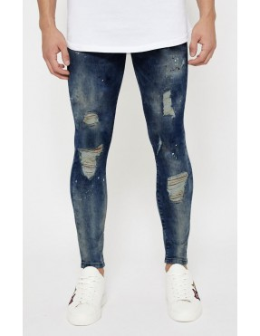 Pantalones Good For Nothing Ripped para Hombre - Azul