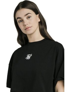 Camiseta SikSilk Oversize Crop