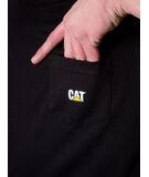 Camiseta Caterpillar Small Logo Pocket