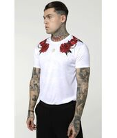 Camiseta SikSilk Majestic Curved Hem