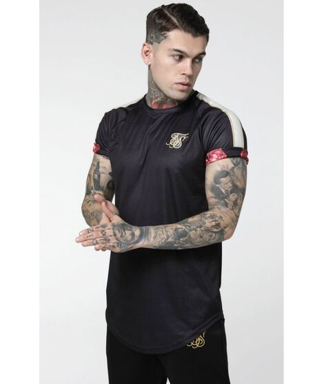 Camiseta SikSilk Majestic Roll Sleeve