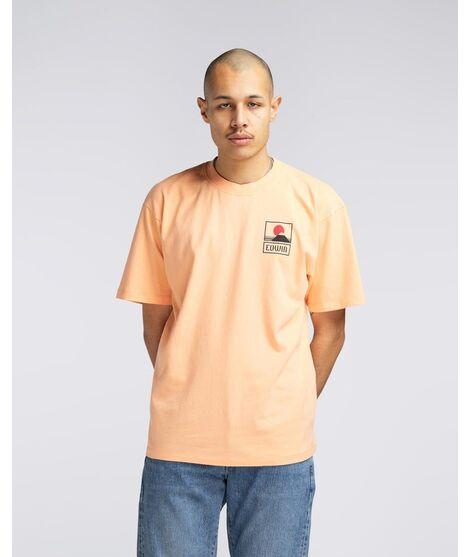 Camiseta Edwin Sunset On MT Fuji