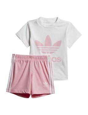 Conjunto adidas originals Camiseta y Shorts Trifolio