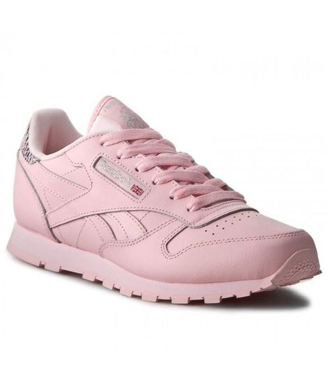 CLASSIC LEATHER MET LUSTER PINK/SILVER