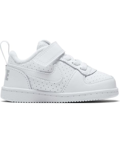 36c84baacd2 ᐈ Zapatilla Nike Court Borough Low para Bebé en Blanco – Black ...
