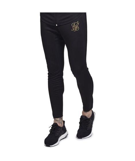 Pantalon Siksilk Zonal Track Negro/ Dorado