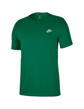 Camiseta Nike Verde con Logo Bordado Futura