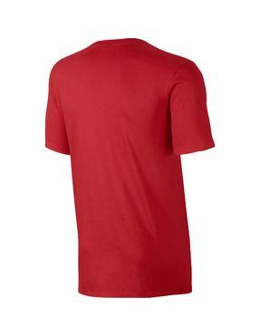 Camiseta Nike Roja con Logo Bordado Futura