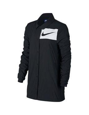Chaqueta Nike Swoosh para Mujer Negra