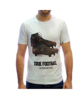 Camiseta Gorgeous True Football y botas blanca