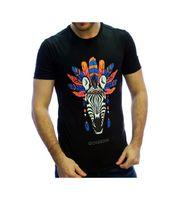 Camiseta Gorgeous Cebra negra