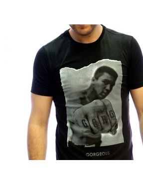 Camiseta Chico Gorgeous Ali negra