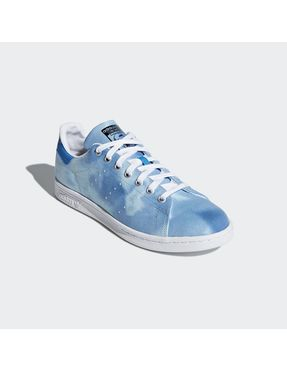 Zapatilla Pharrell Williams Hu Holi Stan Smith Azul