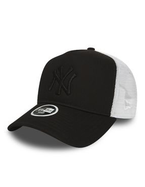 Gorra trucker New York Yankees Essential A Frame para Mujer Negro