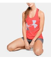 Camiseta sin mangas UA Tech™ Graphic difuminada para mujer