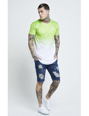 Camiseta Sikslik Neon Fade para Hombre