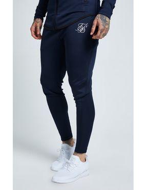 Pantalones SikSilk Athlete Track para Hombre Marino