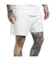 Bañador (Boardshort) Siksilk – Pastel Swim Shorts Blanco para Hombre