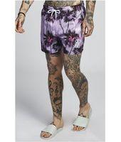 SikSilk Palm Rework Shorts – Deep Lilac para Hombre