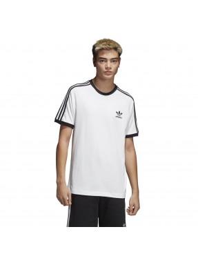 Camiseta 3 bandas en Blanco