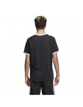 Camiseta 3 bandas en Negro