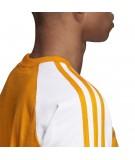 Camiseta 3 Bandas para Hombre en Naranja