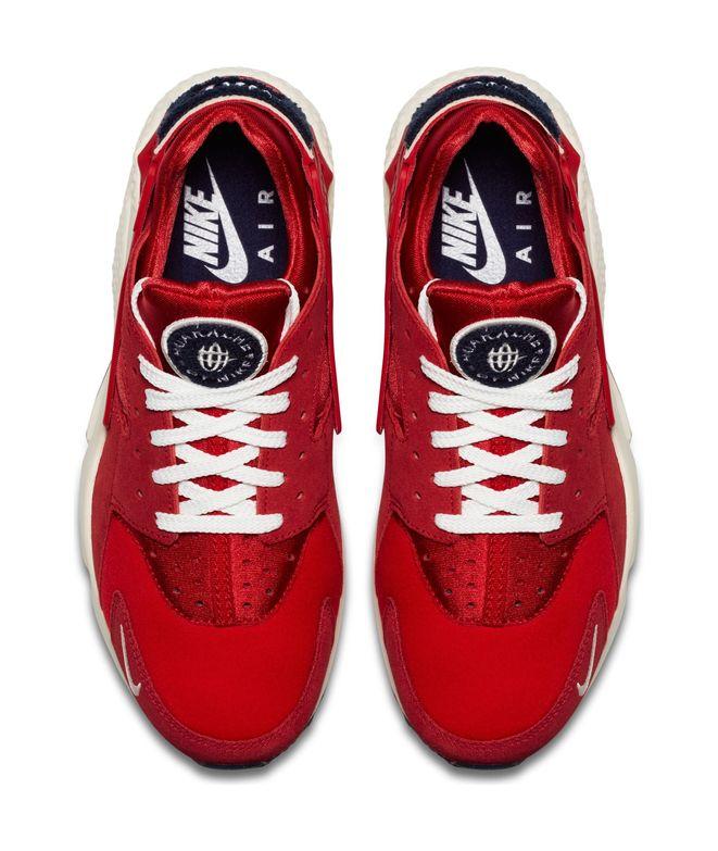 Zapatillas Nike Air Huarache Run Premium para Hombre Rojo