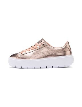 Basket Platform Trace Luxe Dusty Coral-P para Mujer