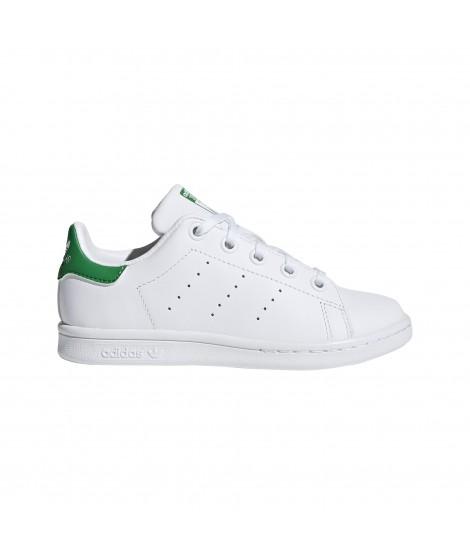 watch 4f0d0 ceb51 adidas Originals - Zapatilla Stan Smith para Niño - Unisex - Blanco Verde