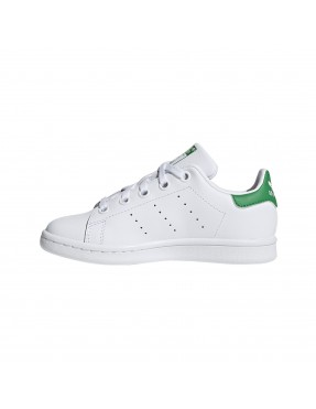 Zapatilla Stan Smith para Niño - Unisex - Blanco/Verde