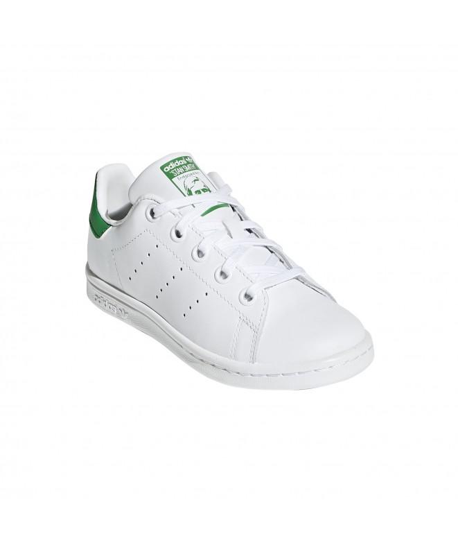 info for 73647 a3084 ... Zapatilla Stan Smith para Niño - Unisex - Blanco Verde ...