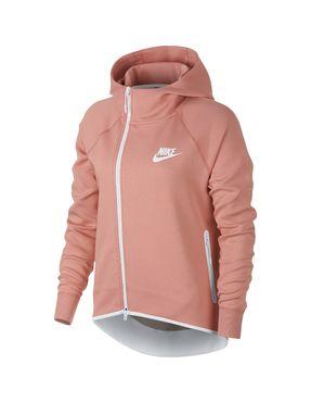 Capa Fleece Nike Sportswear Tech para Mujer - Rosa