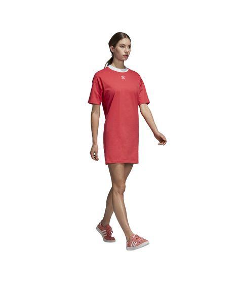Vestido Trefoil - Rojo
