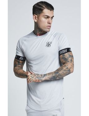 Camiseta SikSilk Tech - Gris