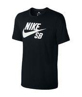 Camiseta Nike SB Logo para Hombre - Negro