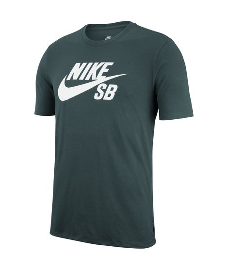 Camiseta Nike SB para Hombre - Verde Oscuro